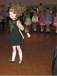 St. Patrick`s Day Irish Dancers